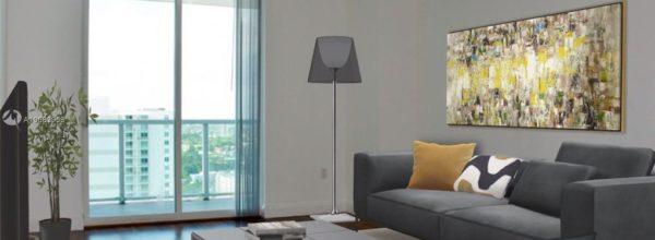 Appartamento pavimenti in legno Miami Brickell